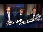 'Pod Save America' Hosts Have Sympathy For Sean Spicer ...