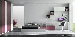 Amenagement Chambre Ado : style de chambre fille ado ~ Teatrodelosmanantiales.com Idées de Décoration