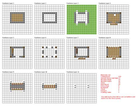 minecraft castle blueprints layer  layerminecraft
