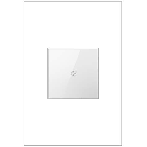 Le Touch Dimmer by Legrand Adorne White Touch Dimmer Adth4fbl3pw4 Bellacor