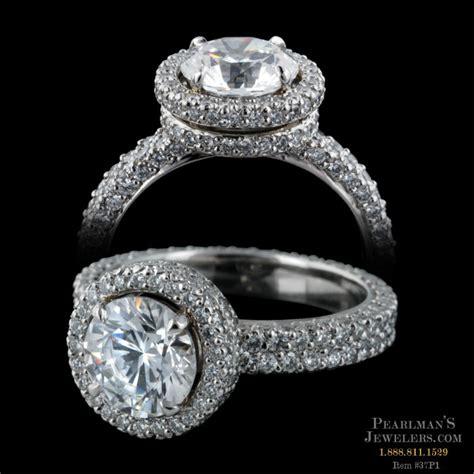 Michael B Jewelry Diamond Platinum Engagement Ring