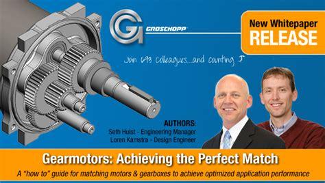 the motor gearbox match groschopp news
