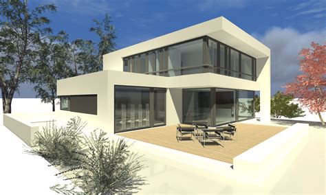 Moderne Häuser Bauen  Haus Dekoration
