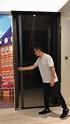 慧柏窗簾蚊網公司 - 現場實景展示小欖滿名山滿庭露台門加裝日本METACO(天風)自動回捲式高清網防蚊紗門 ...