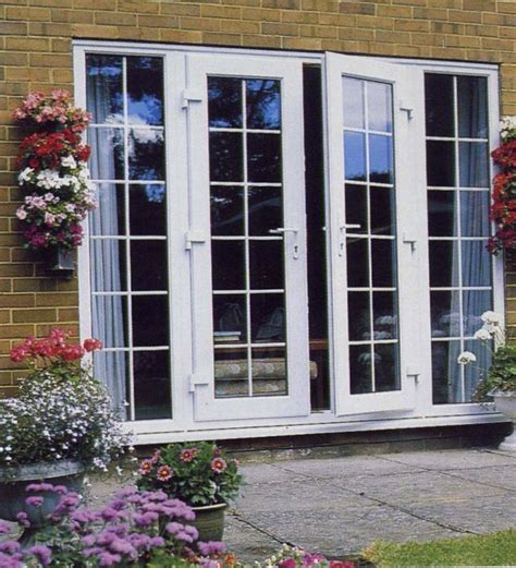 exterior french doors  built  blinds renoliving