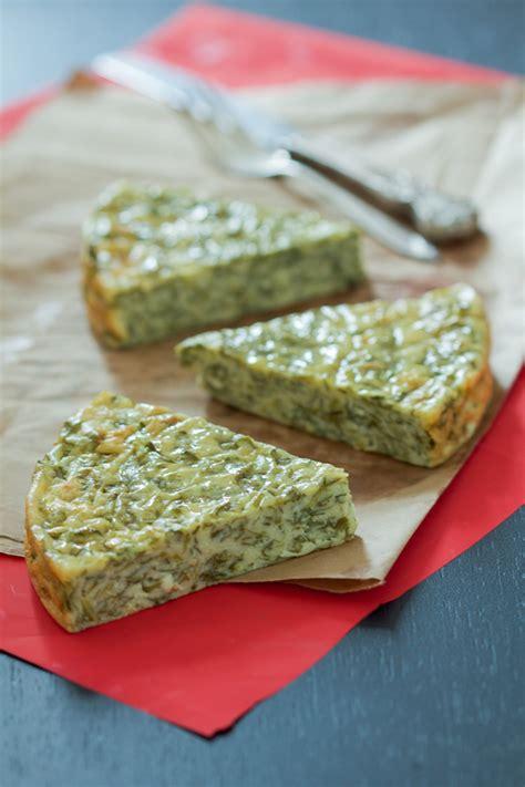 crustless spinach  cheese pie balkan lunch box