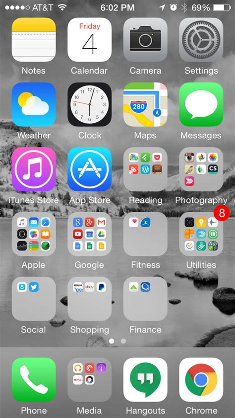 iphone home screen layout ideas an android user takes on ios for a week my