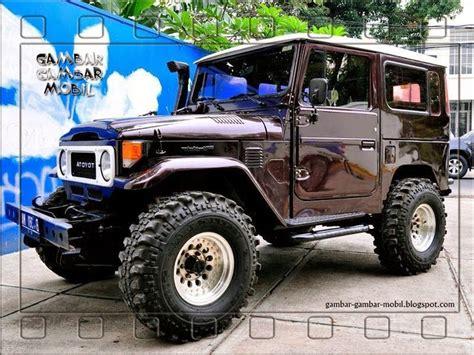 Gambar Mobil Gambar Mobiltoyota Land Cruiser by Gambar Mobil Hartop Modifikasi Jeep