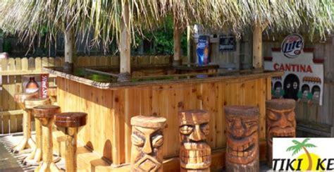Bar Accessories Sale by Tikikev Tiki Bars Huts Tables And Accessories For Sale