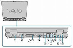 The Parts Diagram Of The Device Is Sony Vaio Notebook