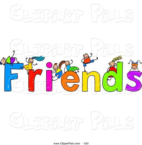 Friendship Clip Free Friendship Clip Pal Clipart Of A Children With