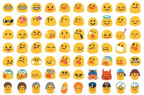 black emoji android los emojis de android desaparecen adi 243 s blobs