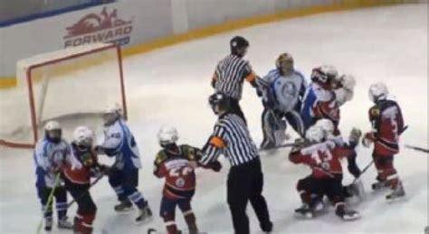 russian kids drop gloves  epic hockey brawl toronto star