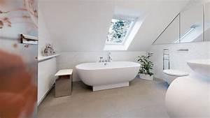 Badezimmer Gestalten Dachschräge : b der mit dachschr ge optimal von die badgestalter gestalten lassen ~ Markanthonyermac.com Haus und Dekorationen