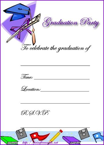 free printable preschool graduation invitations graduation invitations and announcements 570