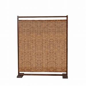 Decorative WoodBamboo Room Divider Screen Bamboo