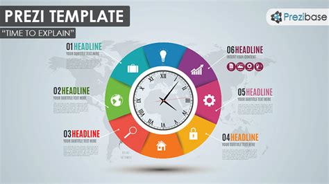 time  explain prezi template prezibase