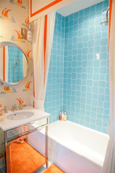 pictures of cool bathroom hd9g18 31 cool orange bathroom design ideas digsdigs
