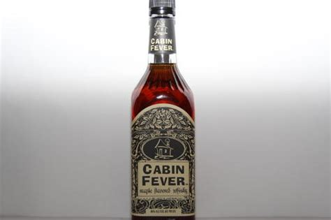 cabin fever whiskey whisky cabin fever maple flavored whiskey 750ml was