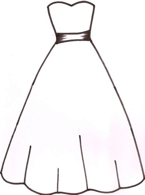 Dress Clipart Dress Silhouettes Wedding Dress Silhouette Clip