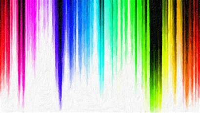 Rainbow Colorful Stripes Colors Backgrounds Wallpapers Striped