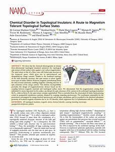 publications ina instituto de nanociencia de aragon With nano letters cover letter