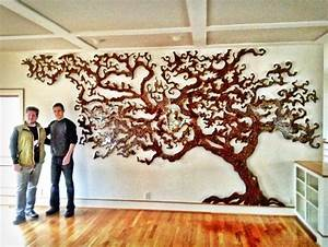 custom tree of life rowland augur fine art With kitchen cabinets lowes with tree of life carved wooden wall art