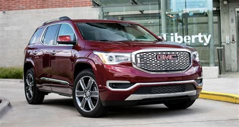 gmc acadia 2020 dimensions 2020 gmc acadia redesign specs release date 2021 gmc