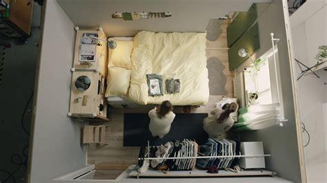 ikea square metre challenge part  tiny bedroom