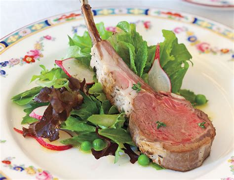 The hairy bikers demonstrate how to french trim a rack of lamb. Frenched Lamb Chops - TeaTime Magazine
