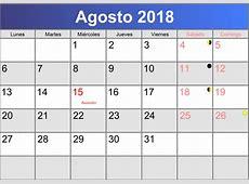 calendario mes de agosto 2018 Christopherbathumco