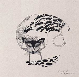 paper handkerchief illustration-animal on Behance
