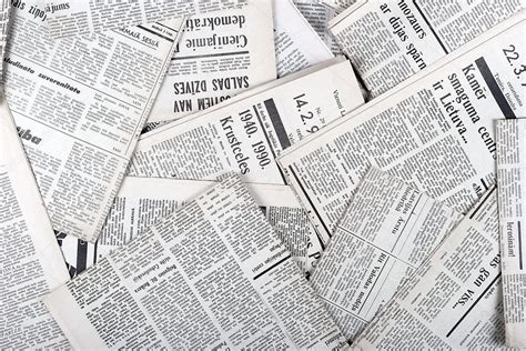 Newspaper Background Image | World of Label