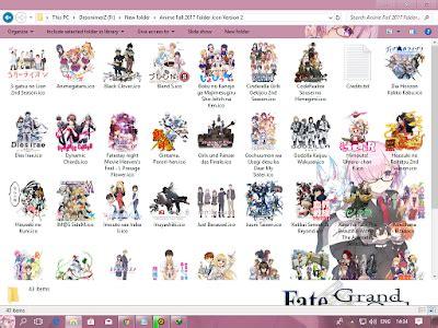 Anime Fall 2014 Icon Folder Pack Update V2 Anime Fall 2017 Folder Icon Version 2 Desonime All