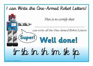 news st michael39s infant school With robot letters handwriting