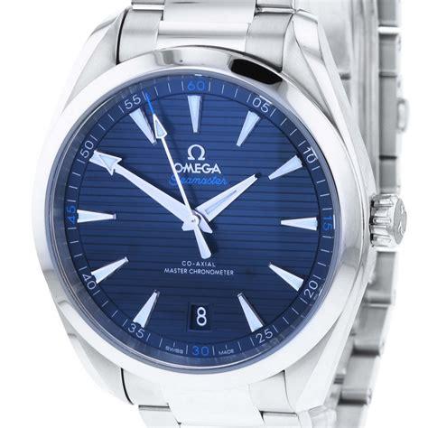 Omega Seamaster Aqua Terra 150m Mens Blue Dial 41mm