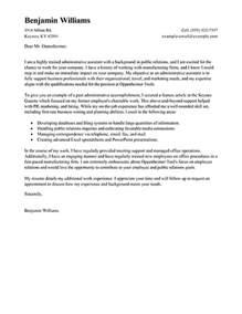 Administrative Support Clerk Cover Letter Sample | CV Timb