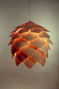 Natural Suspended Lamp in Pinecone Shape – Crimean