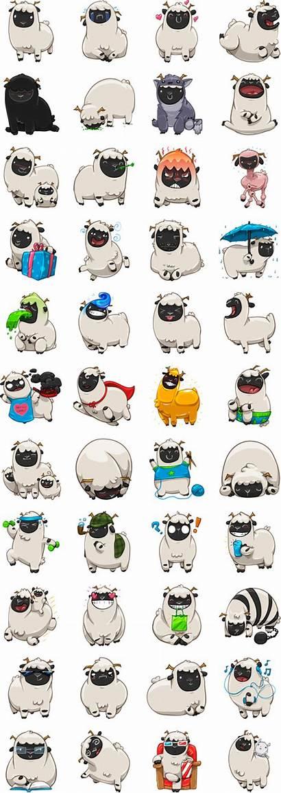 Baach Stickers Sticker Sheep Messenger Lanham David