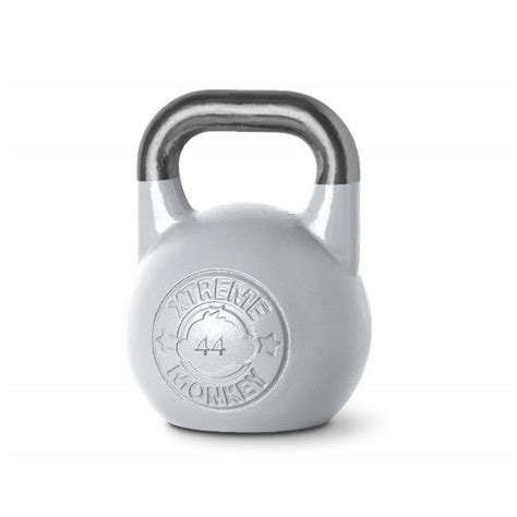 monkey xtreme kettlebell 44kg competition silver fitness regular