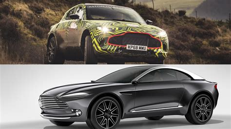 Visual Comparison Between The Aston Martin Dbx Prototype