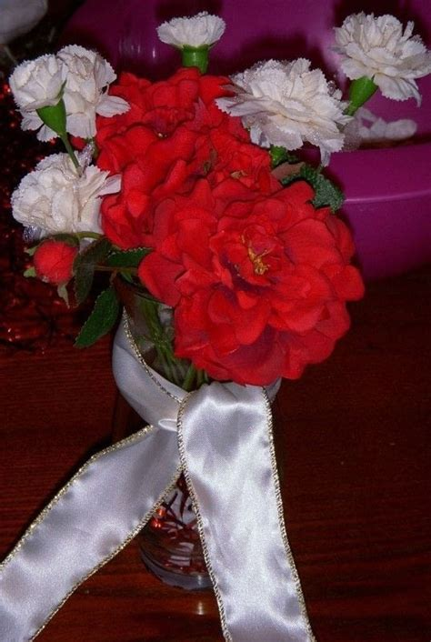 anniversary party centerpieces     table