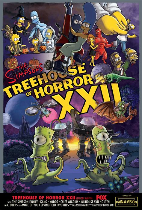 simpsons treehouse  horror horrorpedia