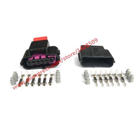 aliexpress buy 10 6 pin gas accelerator throttle pedal waterproof car connector 8k0