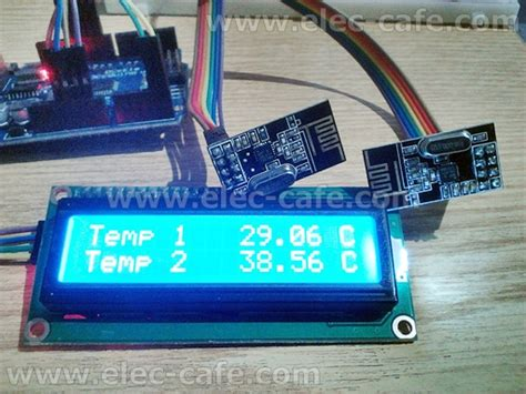 nodes nrf24l01 wireless temperature ds18b20 with arduino uno 2 transmitter 1