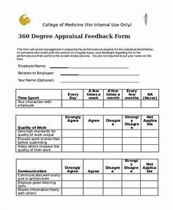 The 360 degree evaluation form example guide to using it for 360 performance evaluation template