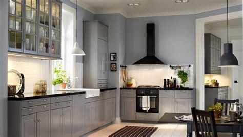 grey kitchen cabinets pictures metod k 246 k med bodbyn gr 229 l 229 dfronter luckor och 4071