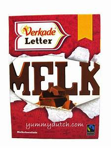 chocolate letter milk verkade yummy dutch With where to buy dutch chocolate letters