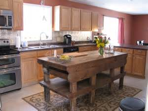 vintage kitchen islands heir and space tables as kitchen islands