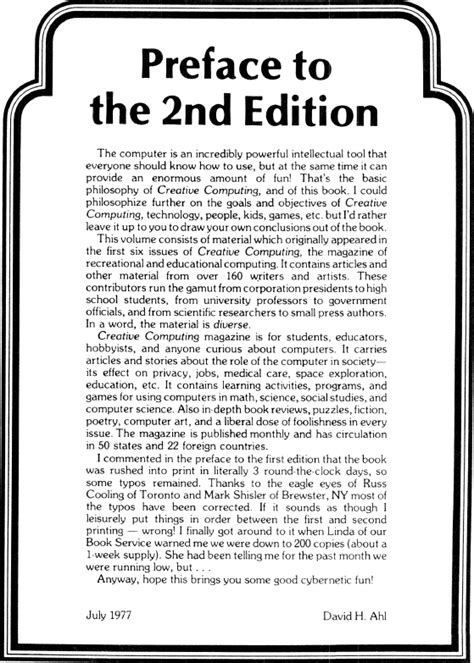 Preface to the 2nd Edition